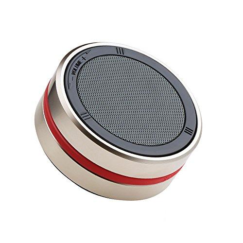 OPAKY Neuer 360 ° Rotationstyp Tragbarer, kabelloser DJ Super Bass Stereo Bluetooth Lautsprecher für iPhone, Samsung usw.