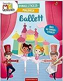 Coppenraths Mal-Werkstatt: Rubbelsticker-Malbuch: Ballett