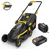 Best Cordless Mowers - TECCPO Cordless Lawn mower, 28V 2.0Ah Lawn Mower Review