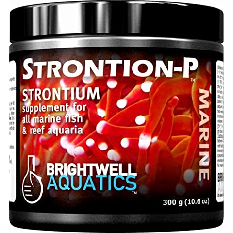 Brightwell Aquatics Strontion-P Dry Strontium Supplement, 600 grams by Brightwell Aquatics