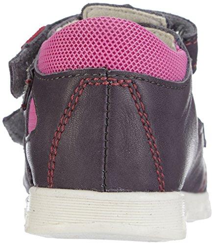 Däumling  Eddie, Chaussures premiers pas pour bébé (fille) Gris - Grau (Fortuna airone83)