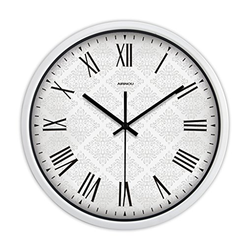Horloge murale de salon simple horloge quartz muet (Couleur : # 3, taille : 30cm)