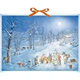 Wandkalender - Weihnachtsüberraschung für die Waldtiere