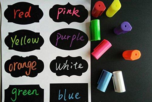 Rotuladores de tiza líquida Aolestar 8 colores diferentes brillantes 6mm