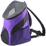 Mochila portátil para transportar perros de KKwell de nuevo estilo, transpirable y cómoda de 28x 24x 33cm