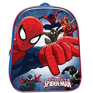 Zaino Zainetto asilo per bambino 3D Ultimate Spiderman Marvel