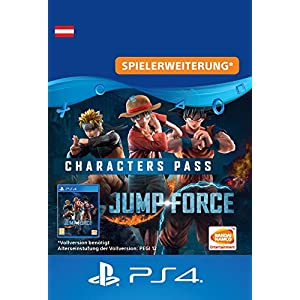 JUMP FORCE – Characters Pass – PS4 Download Code – österreichisches Konto