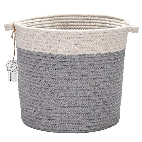 Conjunto cesta almacenamiento forma oval 40,6 x 33