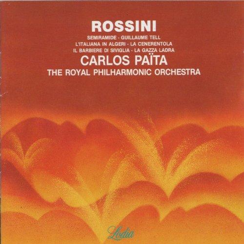 Carlos Païta / Gioacchino Rossini Rossini Semiramide / Guillaume Tell / L' Italiana In Algeri / La Cenerentola / Il Barbiere Di Siviglia