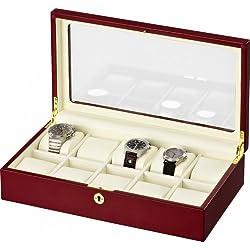 Auer Accessories Leda VS80410CM Watch Box