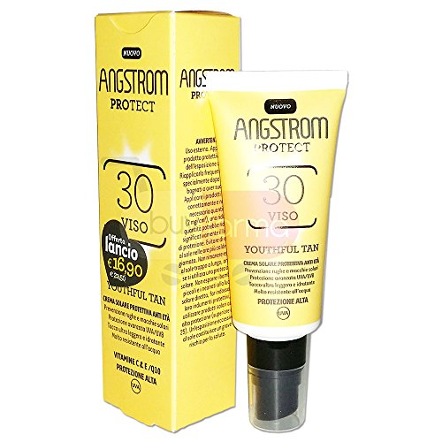 Angstrom Youthful Tan Viso SPF 30+ 50ml