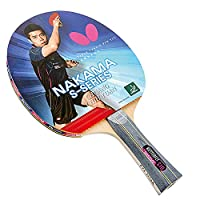 Butterfly Nakama S-10 Table Tennis Racket 2 Balls - Wakaba 2.1mm Rubbers - ITTF Aproved