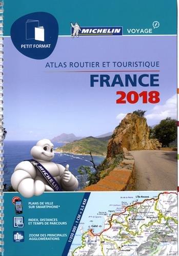 Descargar Libro Atlas France Petit Format Michelin 2018 de Michelin