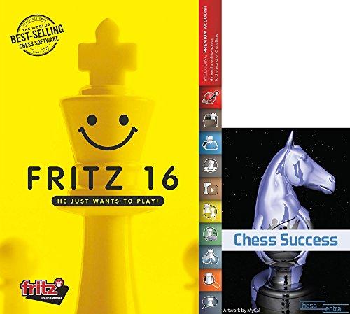 Fritz 16 Schachspiel-Programm mit Schach-Erfolgs-Trainingssoftware