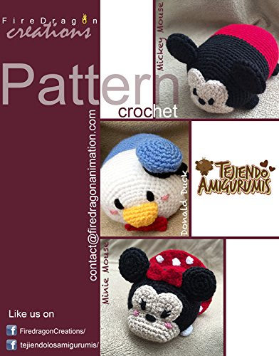 onald Tsum Tsum Amigurumi Pattern (Magic Hands Pattern Collections Book 1) (English Edition) (Mickey-händen)