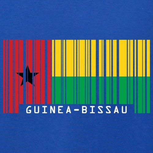 Guinea-Bissau Barcode Flagge - Herren T-Shirt - 13 Farben Royalblau