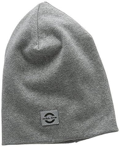 mikk-line Mütze Uni, Cap, Grau (Grau (Light Grey Melange 135) 135), 4 Ans