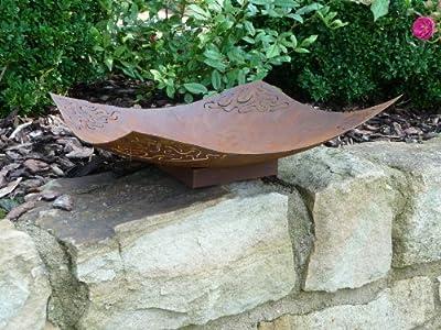 """Schale Pflanzschale """"SVE"""" Metall Edelrost 37 x 37 cm von Sensiolo bei Du und dein Garten"""