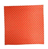 Regency Wraps RW376RED-D50 Treat Sheets Red with White Dots Set of 50 Liners