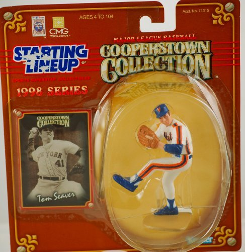 TOM SEAVER / NEW YORK METS 1998 MLB Cooperstown Collection Starting Lineup Action Figure & Exclusive