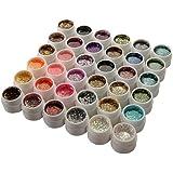 36 lot UV GEL Paillette Acrylique Polish Décoration pour ongles Nail art 5m - FashionLife (TM)