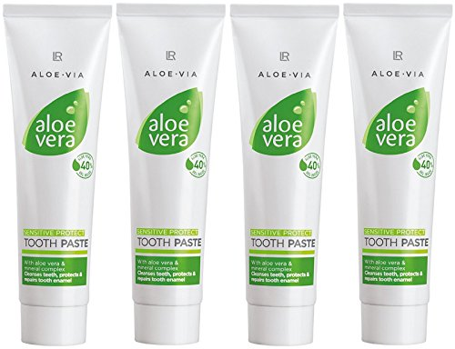 LR ALOE VIA Aloe Vera Schützende Zahnpasta Sensitive (4x 100 ml)