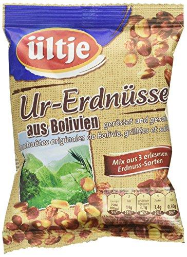 ültje Ur-Erdnüsse aus Bolivien, geröstet und gesalzen, 12er Pack (12 x 200 g)