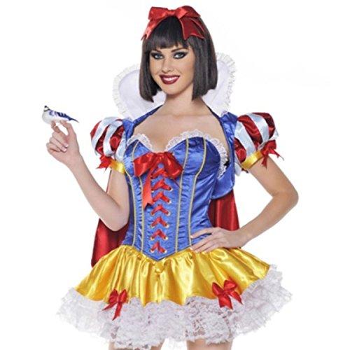 Nihiug Halloween Disney Sexy Lolita Schneewittchen Rock COSPLAY -