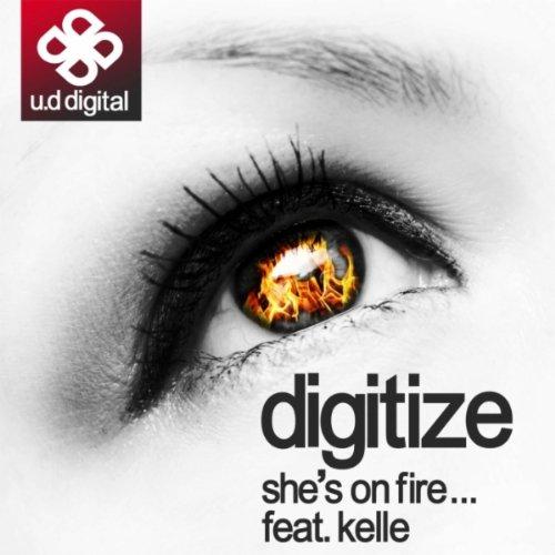She's On Fire (feat. Kelle, Mc B) [Big D Dub Step Remix No Rap]
