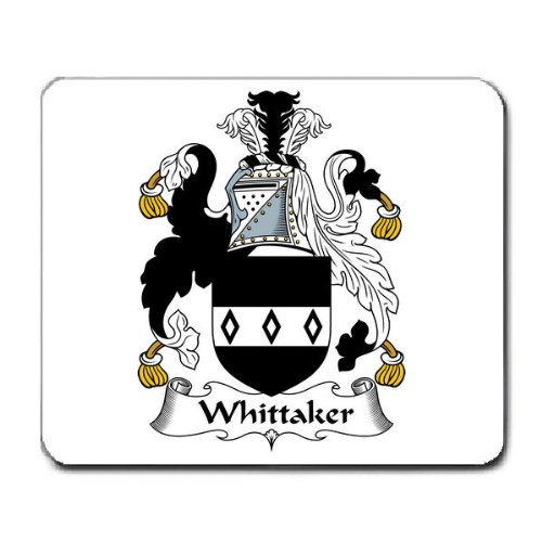 whittaker-family-crest-coat-of-arms-mouse-pad