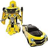 Unbekannt Transformers Robot Fighter BumblebeeAuto zum Roboter • Roboter Fahrzeug Kinder Spielzeug Auto