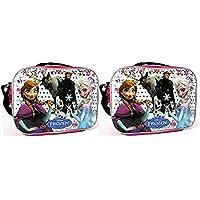 Preisvergleich für Disney Frozen Lunch Bag with Strap Features Elsa Anna Olaf Kristoff Sven by Disney