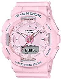 Casio G-Shock S-Series Analog-Digital Red Dial Women's Watch - GMA-S130-4ADR (G804)