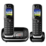 Best Cordless Phones - Panasonic KX-TGJ322EB Twin Handset Cordless Home Phone Review