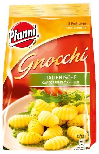 Preisvergleich Produktbild Pfanni Gnocchi Italienische Kartoffelklößchen 2 Portionen,  5er Pack (5 x 500g)