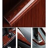 """Brillante madera grano autoadhesivo Coche Wrap adhesivos papel pintado–Adhesivo decorativo para muebles 124* 30cm y # xFF08; 48""""* 12"""" y # xFF09; 124cm*50cm"""