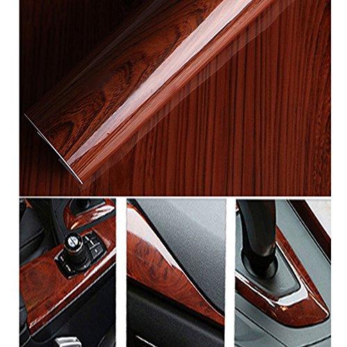 hoho-glossy-wood-grain-textured-vinyl-self-adhesive-car-wrap-decals-sticker-124cm30cm