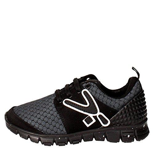 Snappy 461.01 Sneakers Bambino Nylon Nero Nero 26