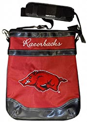 NCAA Arkansas Razorbacks Ladies Shoulder Bag