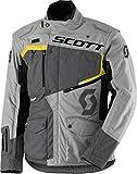 Scott Dualraid DP Motorrad Jacke grau/gelb 2018: Größe: L (50/52)