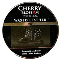 Cherry Blossom Premium Waxed Leather Oil Polish