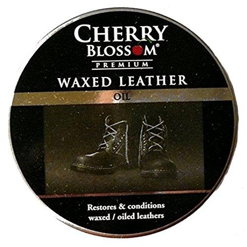 Cherry Blossom Premium gewachst Leder Öl Polish transparent neutral -