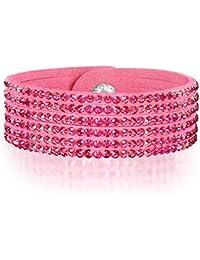 Rafaela Donata - Bracelet fashion cristal de verre - En différentes longueurs, bracelet cristal de verre - 60917078