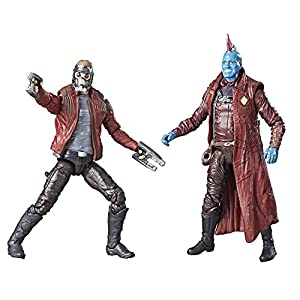 "Marvel Legends Guardianes de la Galaxia 3,75 ""Star Lord & Yondu Figura de acción 2 Unidades 8"