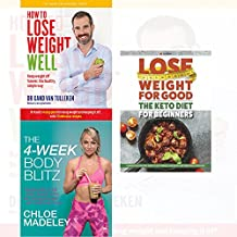 transform your body shape 4-week body blitz, how to lose weight well, keto diet for beginners 3 books collection set - my complete diet, keep weight off forever, complete ketogenic guide to fast weigh