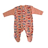 #9: Magic Train Infants Full Sleeve Sleepsuit (Unisex_6-12 Months_SLPST1PC0001C_Multi)