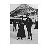20x16 Print of Mr and Mrs Edgar Syers (4484075)