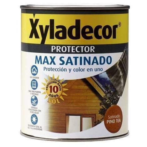 Lasur Satinado XYLADECOR PROTECTOR MAX Teca 750 Ml
