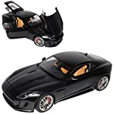 AUTOart Jaguar F-Type Coupe Matt Schwarz Ab 2013 73652 1/18 Modell Auto