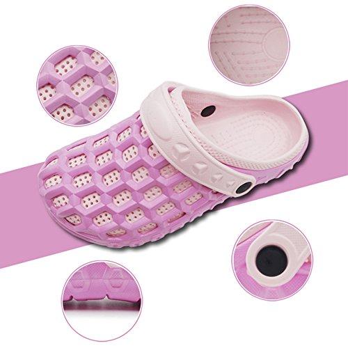 Eastlion EVA Paar Strand Garten Schuhe Sommer Mode Beiläufige halbe Hausschuhe für Liebhaber Weiblich Stil 2 Blau